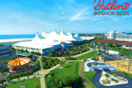 Butlins Holidays - Four Night Midweek Term Time Family Break - Save 43%