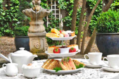The Academy Hotel - West End Sparkling Afternoon Tea for Two - Save 43%