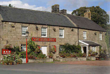Bay Horse Inn - Two Night Stay for Two  in a Northumberland Inn with Breakfast - Save 62%