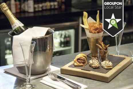 Reform Social and Grill - Bottle of Veuve Chapelle With British Sharing Platter - Save 46%