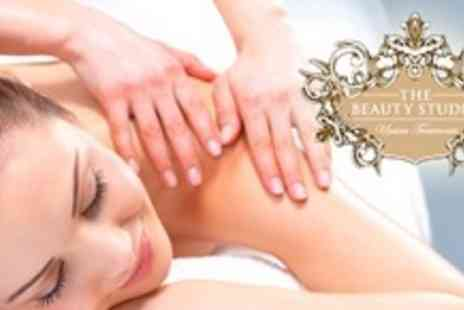 The Beauty Studio - De Stress Back, Neck and Shoulder Massage With Reflexology or Indian Head Massage - Save 65%