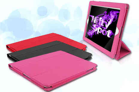 Nifty spoteu - Flip Stand Case for iPad in a Choice of Colours - Save 77%