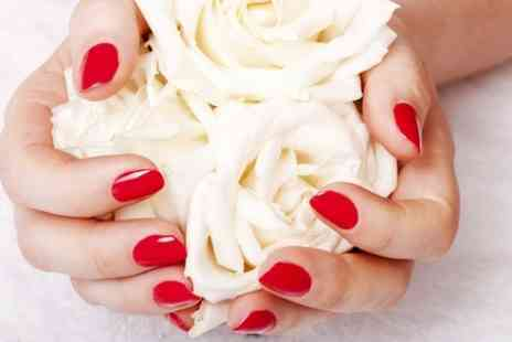 Circle Of Beauty - Gel Manicure or Pedicure - Save 50%