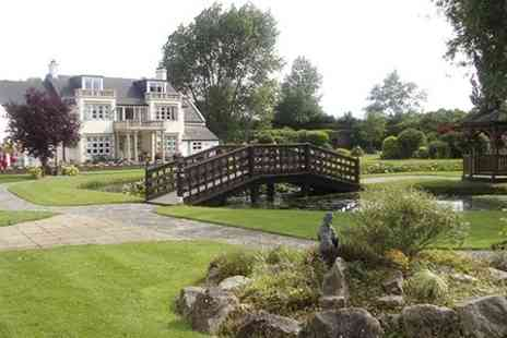 Rookery Manor - One night Stay For Two With Dinner - Save 34%