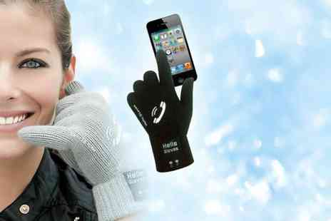 Suga Rush Love - Pair of Bluetooth speakerphone gloves - Save 77%