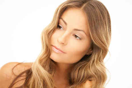 Marilyn Hair and Beauty Studio - Haircut, Blow Dry, and Half Head Highlights or Lowlights - Save 54%