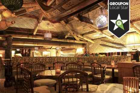 Trader Vics - Three Course Dinner  - Save 32%