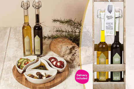 Homeware - Occasion Gourmet Balsamic Vinegar 100ml and Extra Virgin Olive Oil 100ml - Save 57%