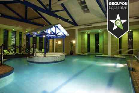 Hallmark Hotel Gloucester - Spa Day With Hot Drink and Pastry For Two - Save 73%