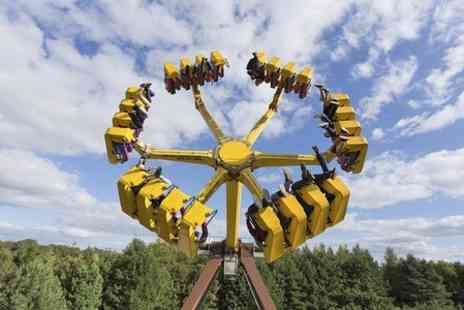 Lightwater Valley Attractions - Entry With Burger Meal and Two Queue Jump Passes  - Save 50%