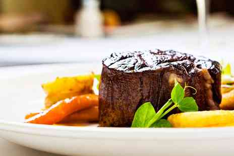 Non Solo Vino -  Highly Rated Steak Dinner and Bubbly for two - Save 43%