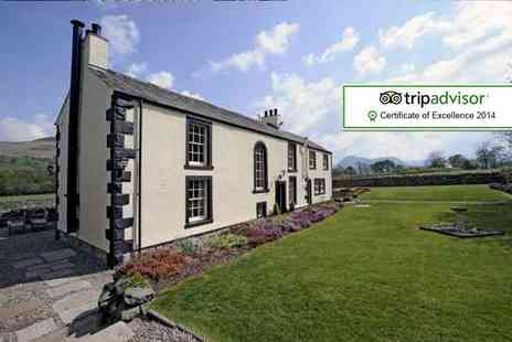 New House Farm - One night 5 star Lake District stay for two including breakfast & cream tea - Save 50%