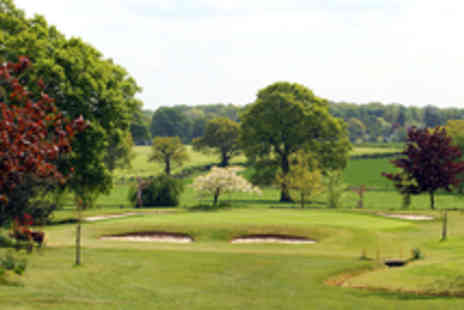 Nailcote Hall Hotel - 18 Holes of Golf with a Bacon Roll for One  - Save 54%