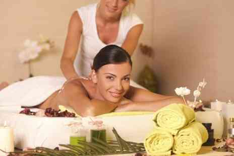 Grace and Elegance - Swedish Back Massage Plus Head Massage or Body Scrub  - Save 59%