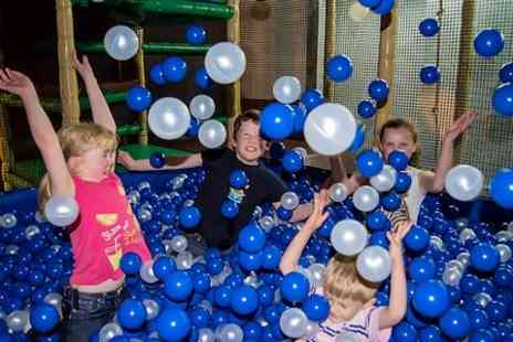 The Jungle - Family Soft Play Entry With Drinks - Save 56%