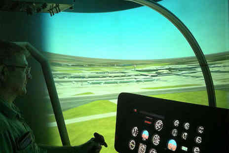 Hields Aviation - 30 minute helicopter flight simulator experience - Save 58%