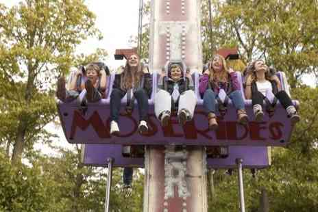 Lightwater Valley Attractions - Entry to Lightwater Valley Plus Meal and Two Queue Jump Passes - Save 28%