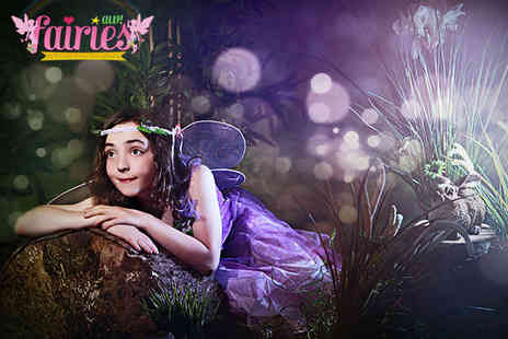 "Andrew Wood Photography - Fairy Photo Shoot for up to Two Children with Three 6""x4"" Prints and a Fairy Gift Bag with Games and Sweets - Save 87%"