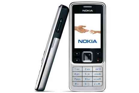 Refurb Phone - Choice of Unlocked Nokia 6300 - Save 39%