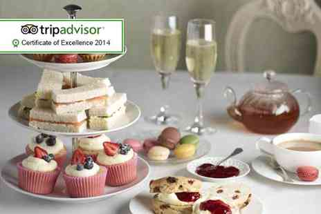 Broadoaks Country House - Sparkling afternoon tea for Two - Save 44%