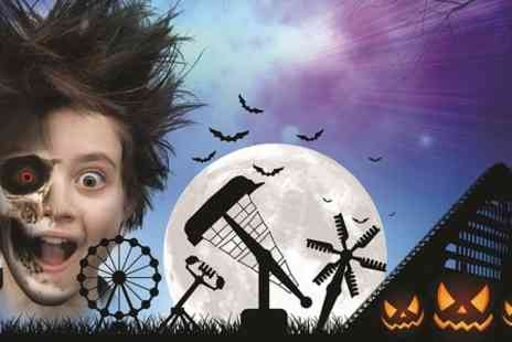 Lightwater Valley Attractions - Entry to Halloween Frightwater  - Save 50%