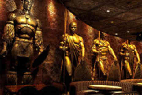 Shaka Zulu - South African Three Course Meal with a Champagne Cocktail for Two - Save 58%