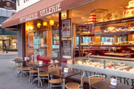 Patisserie Valerie - Speciality Sandwich, Gateau Slice and a Hot Drink - Save 34%