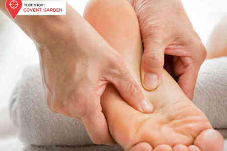 The Reflexology Space - One Reflexology Sessions - Save 67%