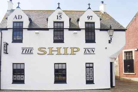 The Ship Inn - Two Course Pub Meal For Two - Save 43%