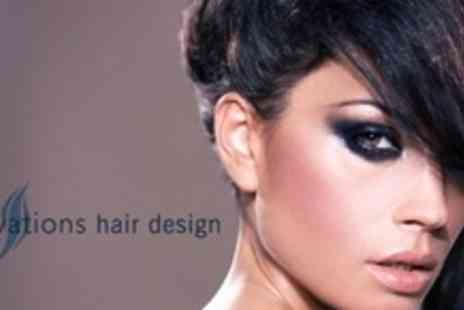 Innovations Hair Design - Cut and Finish Plus Conditioning Treatment - Save 78%