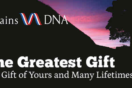 BritainsDNA - The Gift Of Yours And Many Lifetimes - Save 23%