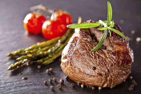 The Clove Hitch - Chateaubriand Served with Onion Rings and Any Veg Side with a Glass of Prosecco Each for Two - Save 47%