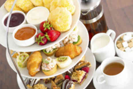 The Hilton - Champagne Afternoon Tea with Health Club Access for Two - Save 55%