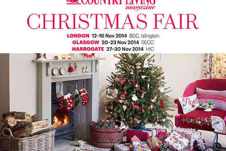 Country Living Christmas Fair - Adult Ticket to Country Living Christmas Fair  - Save 26%
