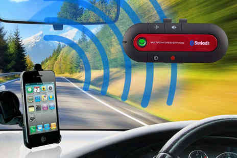 Nifty Spot - Hands Free Bluetooth Car Kit - Save 76%