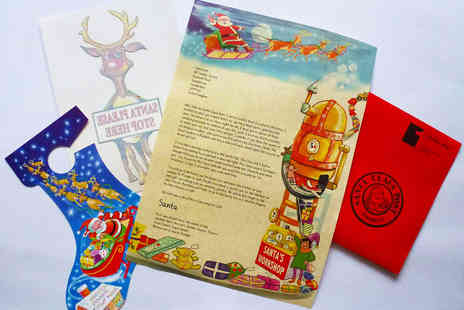 Festive Touch - Personalised Letters from Santa - Save 54%