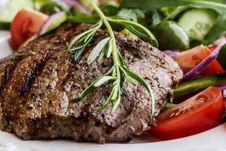 The Old Mill - Two Course Steak Meal With Bubbly For Two - Save 53%