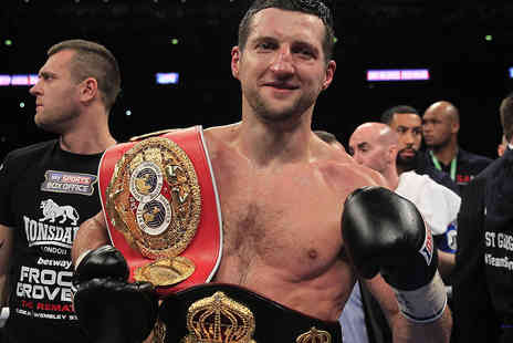 Gala Events - Ticket to an Evening with Carl Froch and David Haye  - Save 38%