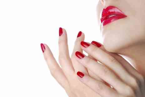 Divine Hair and Beauty Salon - One Session of Shellac Manicure  - Save 59%