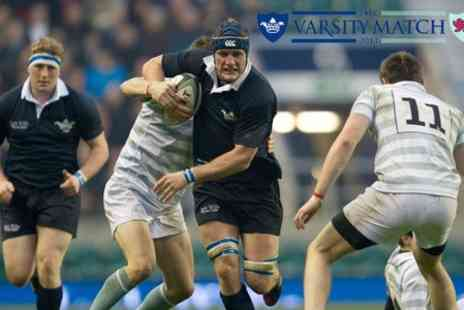 Rugby Football Union - The Varsity Match for Oxford v Cambridge Ticket  - Save 14%