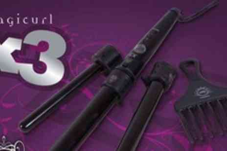 H2D - Magicurl X3 Three In One Hair Curling Wand - Save 63%
