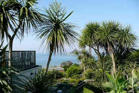 Mount Haven Hotel - An acclaimed hotel with stunning St Michaels Mount views includes B&B and cream tea - Save 32%
