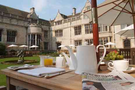 Rushton Hall - A Grade I listed hotel and spa with beautiful grounds - includes breakfast and extras - Save 38%