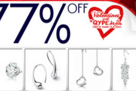 Silver Republic - Four pairs of elegant best selling earrings - Save 77%