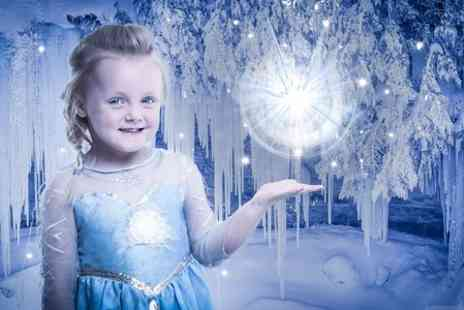J. Photographers North East - Ice Princess Phtooshoot With Prints For Up to Two - Save 0%