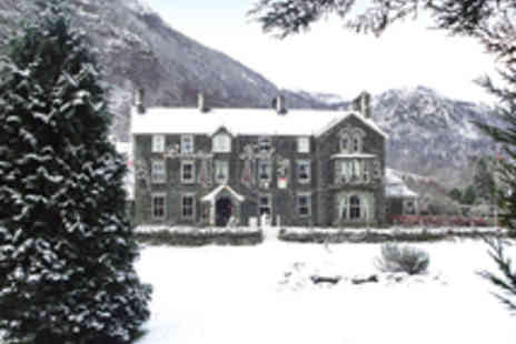 The Borrowdale Hotel - Peaceful Lake District Dining Break for Two  - Save 46%