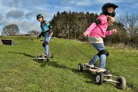 Hales Board and Bike Park -Two hour mountain boarding lesson  - Save 60%