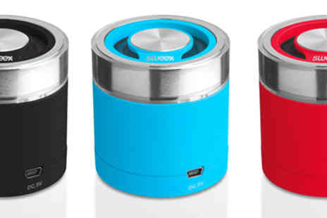 Stock Nation - Sweex Bluetooth Portable Speaker Rock Buddy - Save 48%