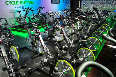 Cycle Rhythm - Five Class Indoor Cycling Card - Save 61%