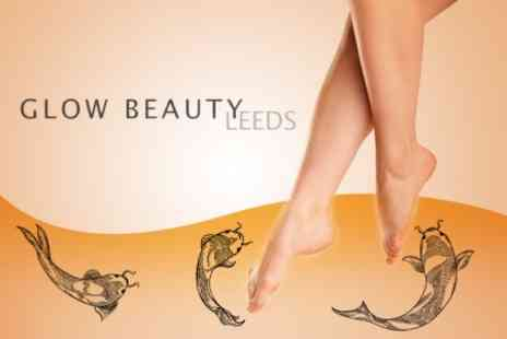 Glow Beauty Leeds - Garra Rufa Fish Pedicure and Foot Massage for Two People - Save 60%